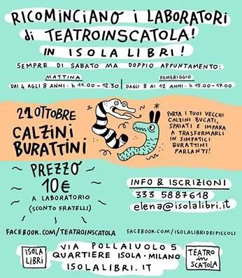 TeatroinScatola: Calzini burattini
