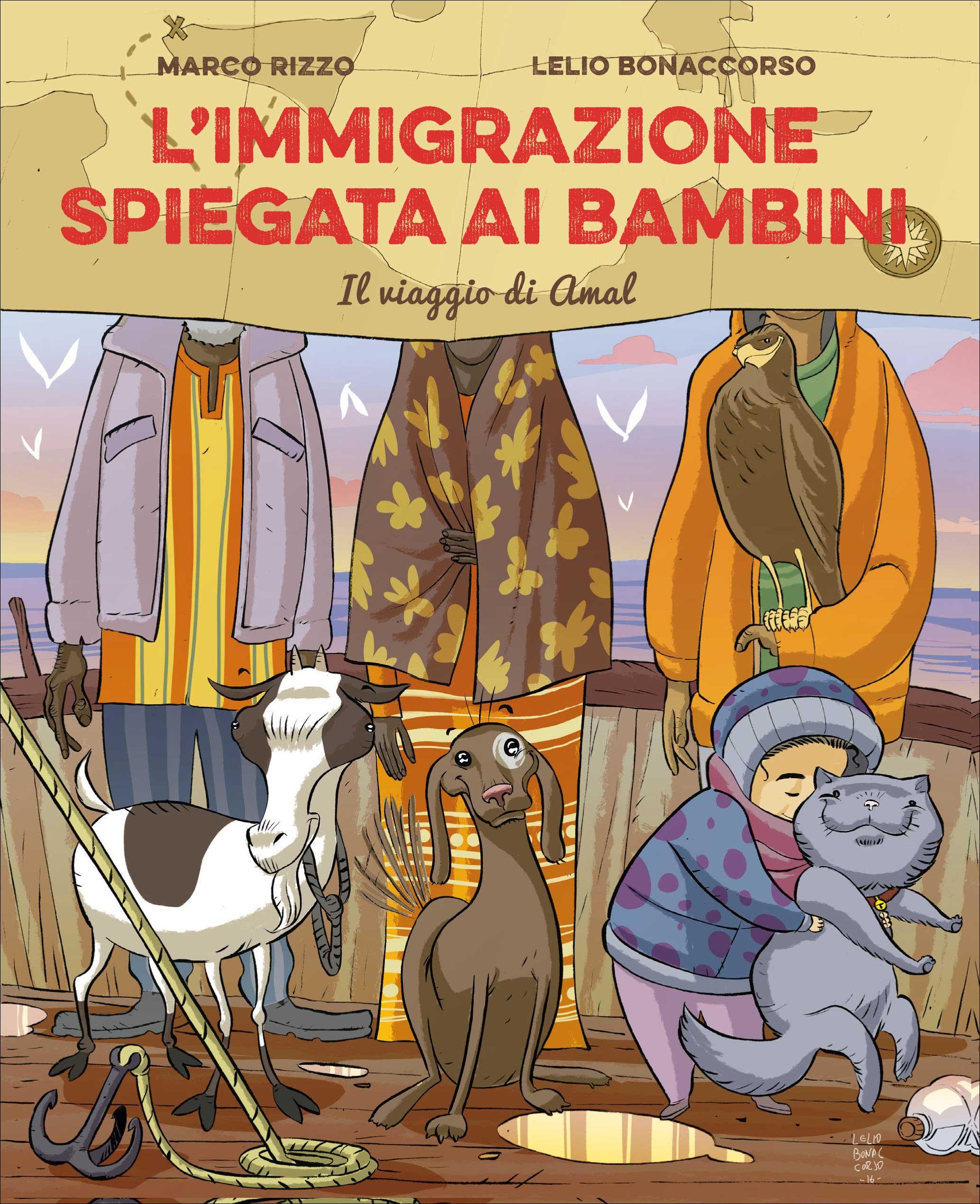 Immigrazione spiegata ai bambini, L'