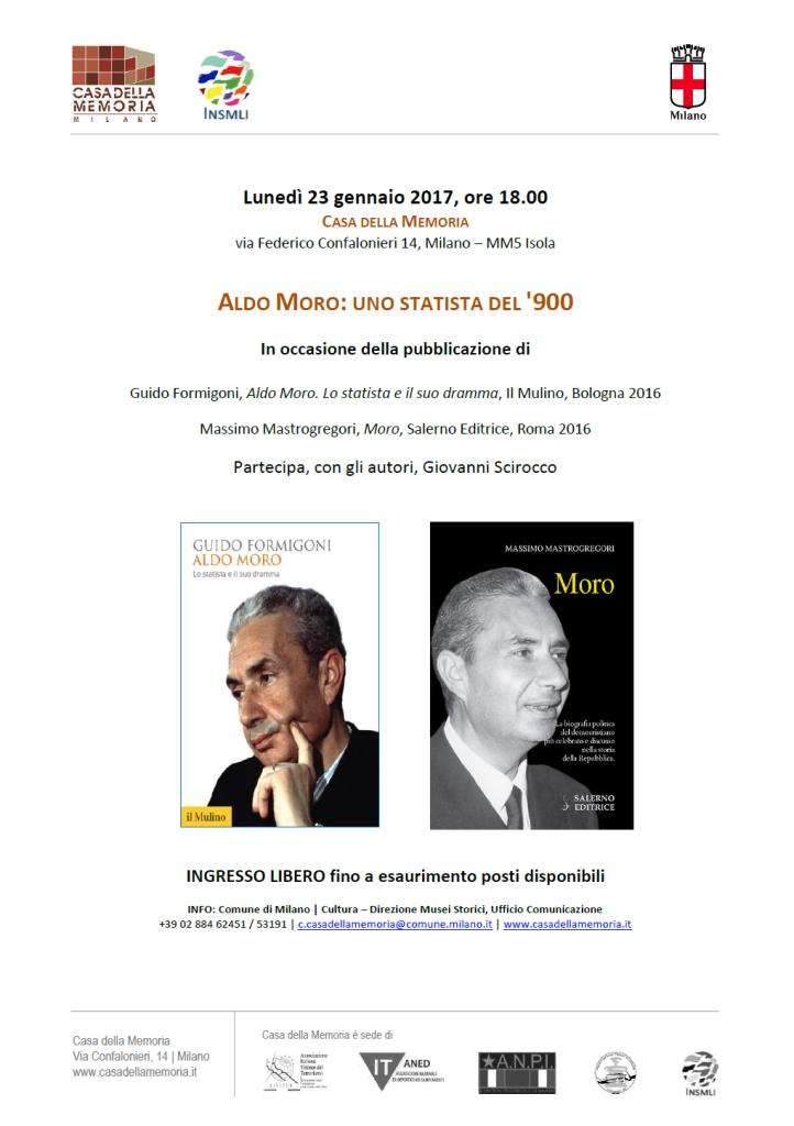 Casa della Memoria: Aldo Moro, uno statista del '900 @ Casa della memoria