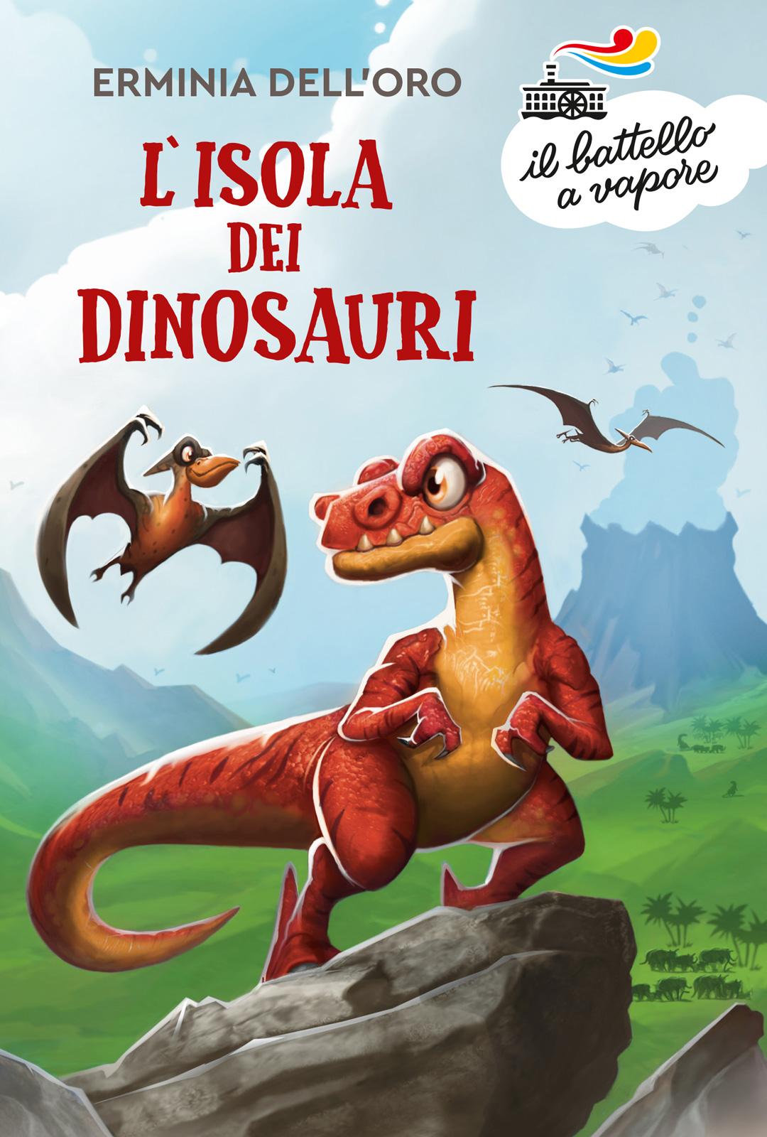 L'isola dei dinosauri, Erminia dell'Oro, Piemme, € 8.50, dai 7 anni